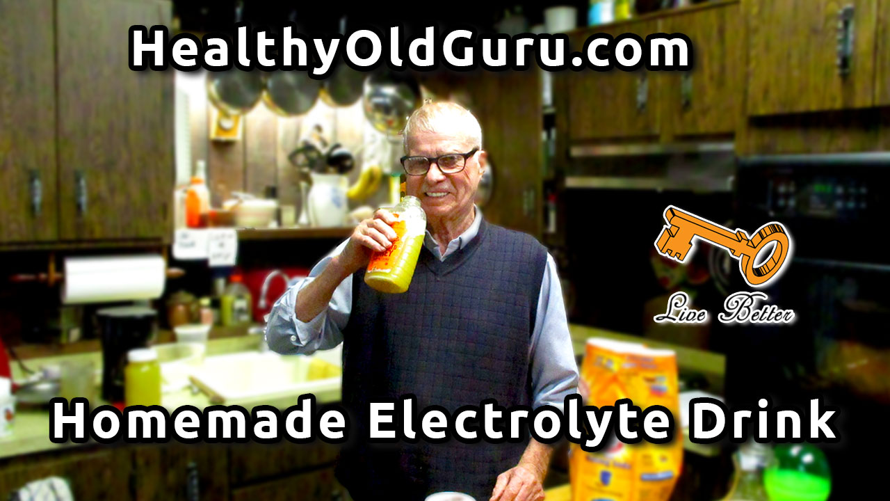 Homemade Electrolyte Drink | Sports Drink |Preventing Muscle Fatigue | Lethargy | Weight Gain