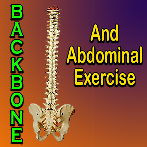 Backbone And Abdominal Exercise