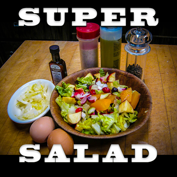 Super Salads And A Silver Spoon For Health And Vitality