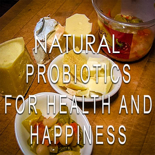 Natural Probiotics For Health And Happiness