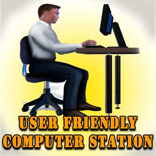 User Friendly Computer Station