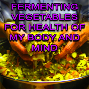 Fermenting Vegetables For Health Of My Body And Mind