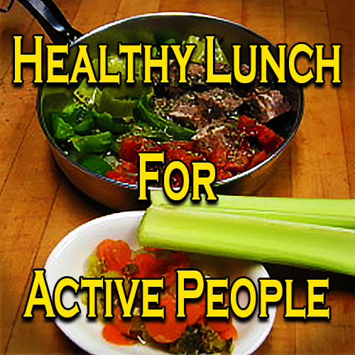 A Healthy Lunch For Active People