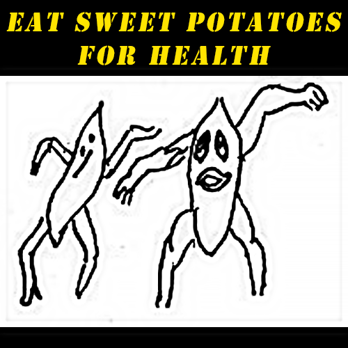 eat sweet potatoes for health
