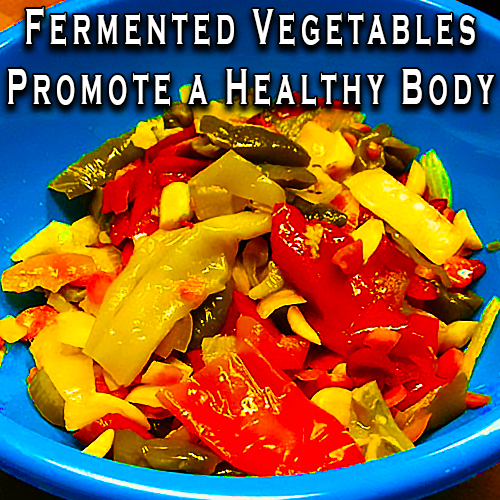 Fermented Vegetables Promote A Healthy Body