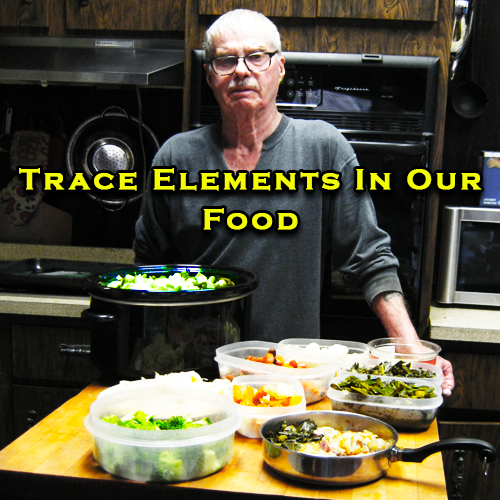 trace elements in our food
