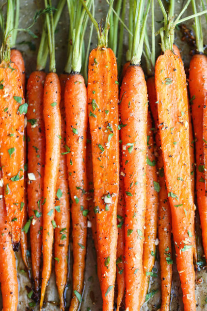 baked carrots for health and fun