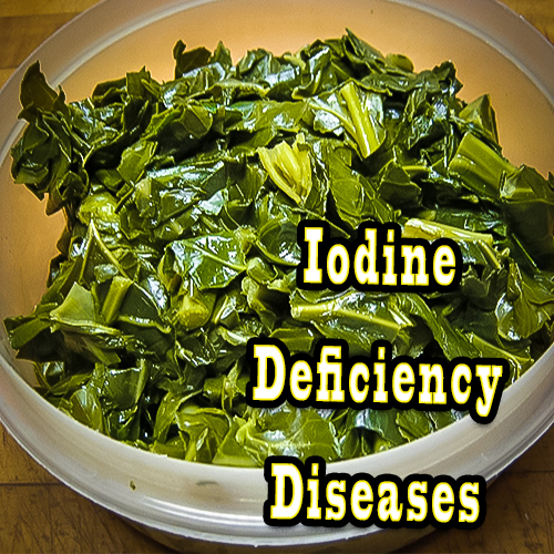 We are at risk of Iodine deficiency diseases