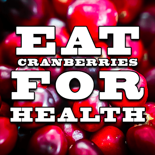 Eat Cranberries a Few Times Each Week for Health