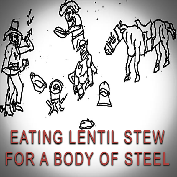 EATING HEALTHY LENTILS STEW FOR A BODY OF STEEL