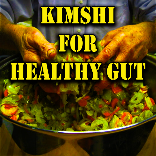 Kimshi For Healthy Gut