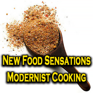 New Food Sensations Modernist Cooking
