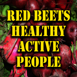 Red Beets Healthy Active People