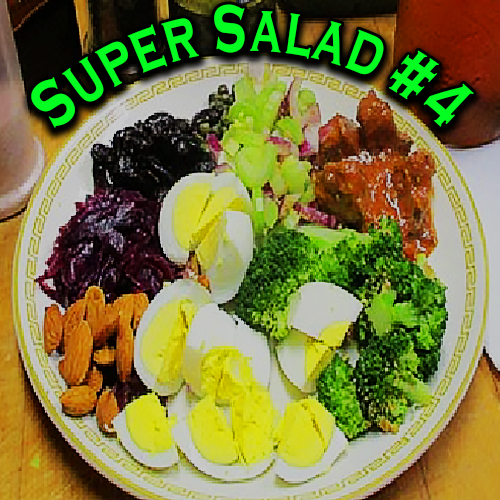 Super Salad #4 For Bodies Of Steel