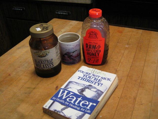Blackstrap molasses for energy